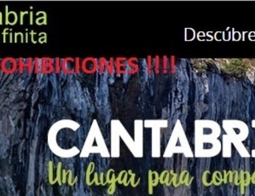 CANTABRIA INFINITA, DE PROHIBICIONES